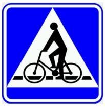 Przejazd dla rowerzystów B-6a