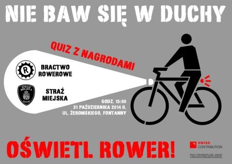 Radom. Nie baw się w duchy. Oświetl rower!