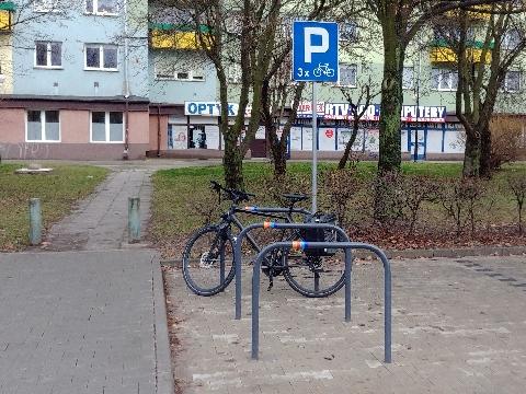 Radom, Chrobrego, rowerem na zkupy