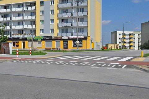 Droga rowerowa na Osiedlu Południe w Radomiu (foto: Rafał Muszczynko)