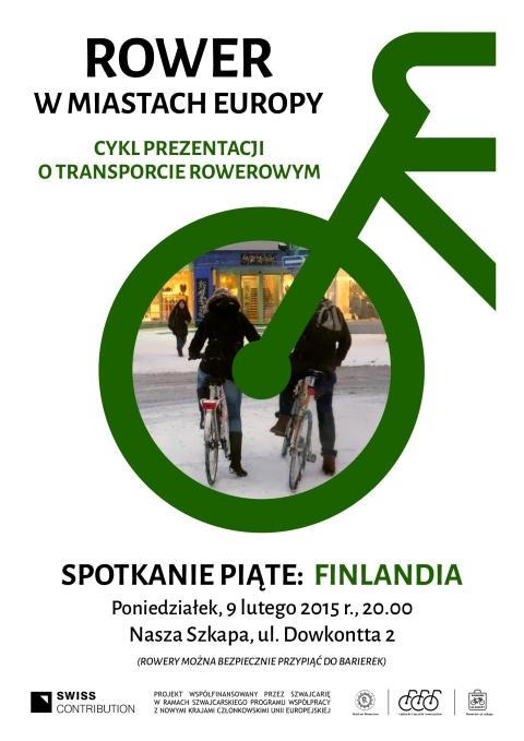 Radom. Pokaza zdjęć: Rower w miastach Europy - spotkanie V - Finlandia