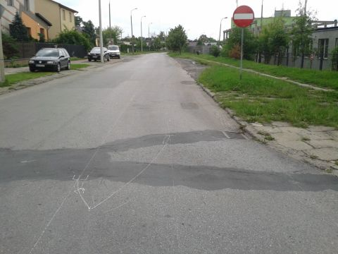 Radom. Trwa wyznaczanie kontrapasa na ul. Górnej i Kaszubskiej