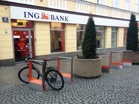 Radom. Rowerem na zakupy, ING Bank Śląski