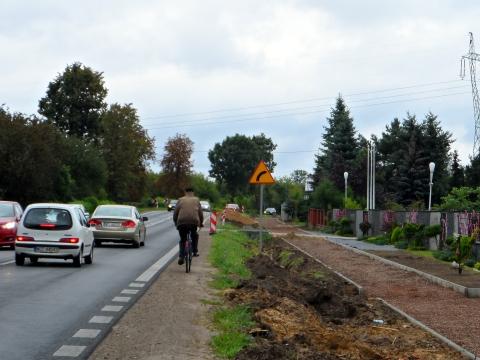 Radom - Iłża. Droga dla rowerów
