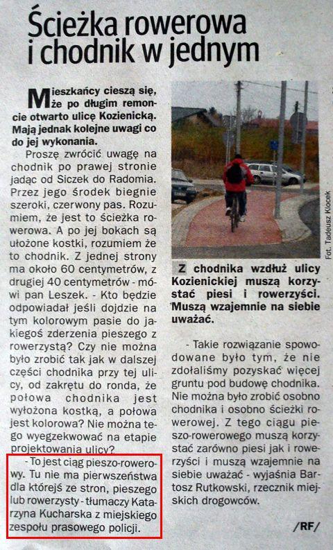 Radom. Echo Dnia 4 listopada 2010