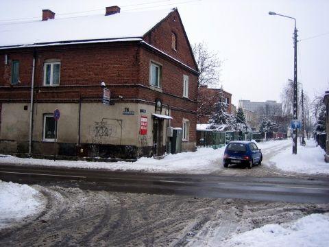 Radom. Szkrzyżowanie ulic Kwiatkowskiego i Pustej