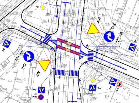 Radom. Wyłączona sygnalizacja na skrzyżowaniu Limanowskiego / Wałowa