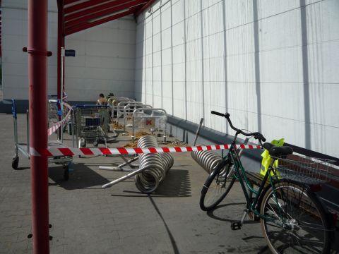 Radom. Stojaki rowerowe, M1, bicycle parking rack