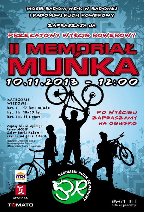 Radom. II Memoriał Muńka