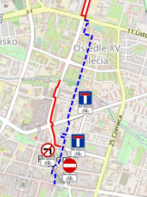 Radom. Michałów - śródmieście