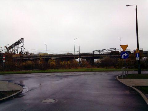 Radom. Skrzyżowanie ulic Okrzei i Metalowej