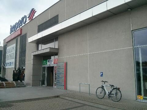 Radom. Stojaki rowerowe, Impero, bicycle parking rack