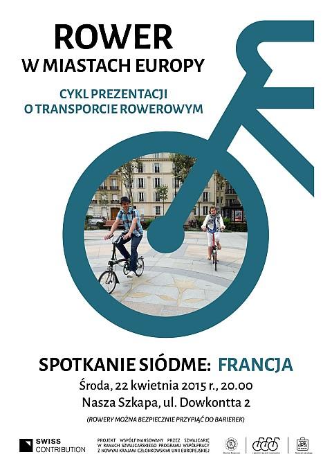 Radom. Rower w miastach Europy. Spotkanie VII - Francja