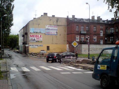 Radom. Nowe przejscie na ulicy Podwalnej