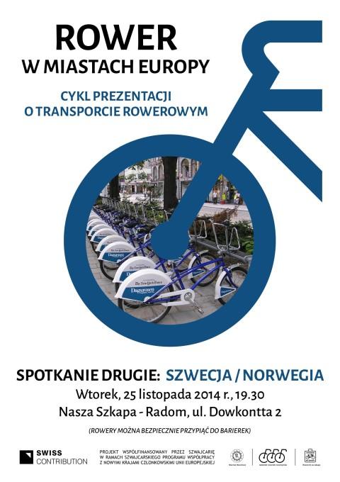 Radom. Pokaza zdjęć: Rower w miastach Europy - spotkanie II - Szwecja / Norwegia
