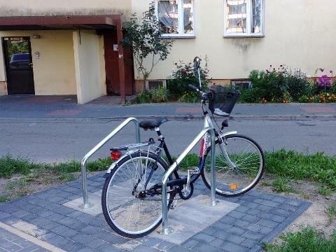 Radom, Ustronie, rowerem na zkupy
