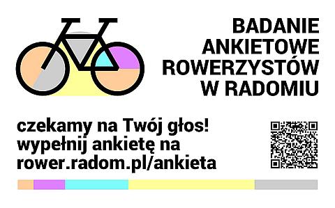 Badanie ankietowe rowerzystów w Radomiu
