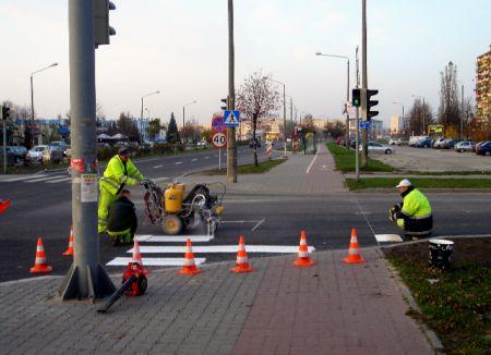 Radom. Brak sygnalizacji dla rowerzystów