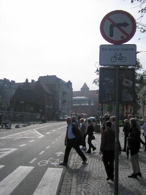 Gdańsk. Legalnie pod prąd