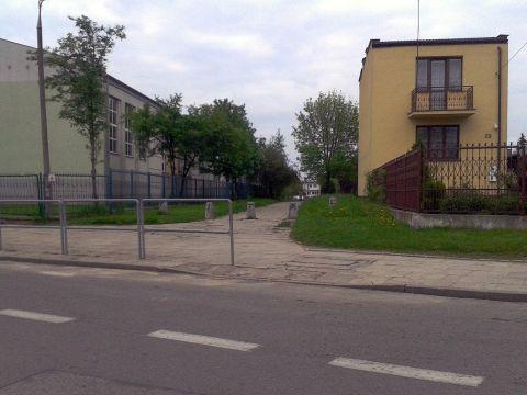 Radom. Ulica Janowiecka, niewidzialna infrastruktura