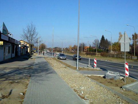 Radom. Budowa drogi rowerowej na ul. Mieszka I