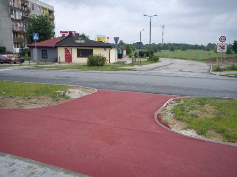 Radom. Budowa drogi rowerowej na osiedlu Południe