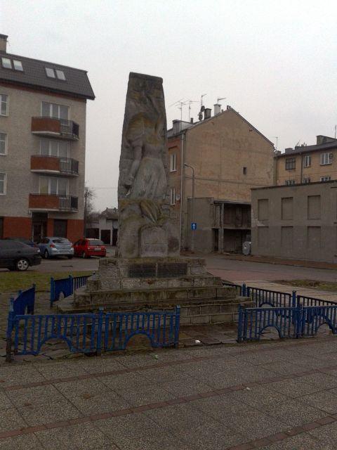 Pomnik, poświęcony pamięci Żydów Radomia zamordowanych w czasie II wojny