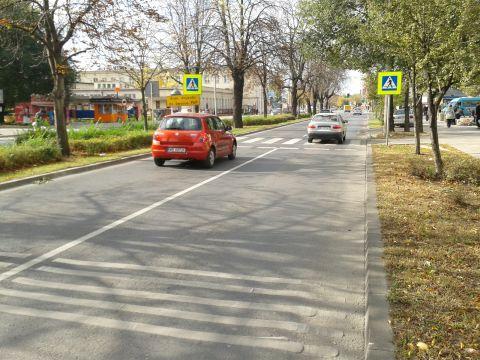 Radom. Przejście dla pieszych ul. Prażmowskiego