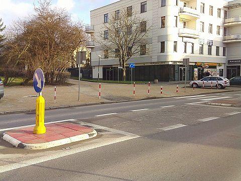 Łącznik rowerowy Prusa Waryńskiego w Radomiu