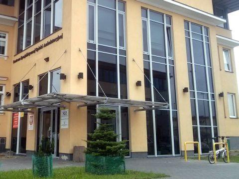 Radom. Stojaki rowerowe, Centrum Specjalistycznej Opieki Ambulatoryjne na ul. Reja 30 w Radomiu, bicycle parking rack