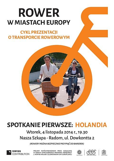 Radom. Zaproszenie. Rower w miastach Europy