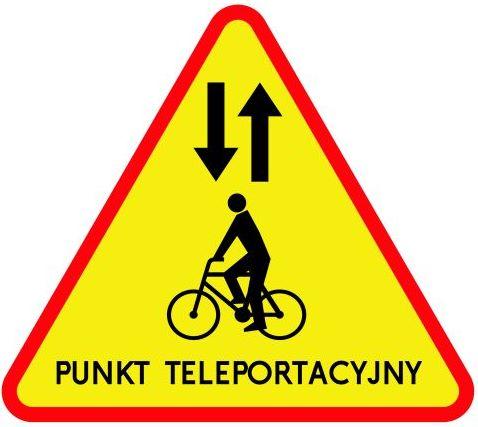 Nowy znak - punkt teleportacyjny
