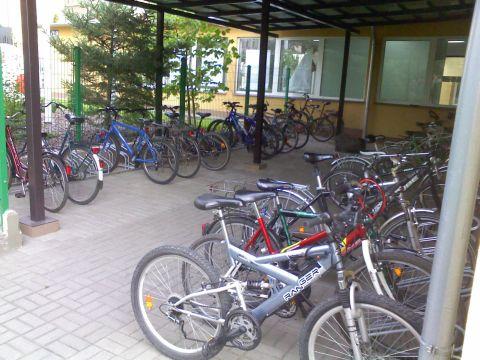 Radom. Imperial Tobacco Polska Manufacturing SA parking rowerowy