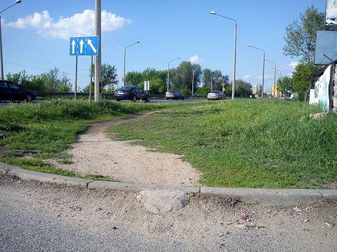 Radom. Niewidzialne infrastruktura rowerowa - wystarczy tylko trochę cementu
