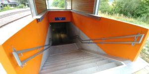 Włochy. Stacja Spondigna Prado